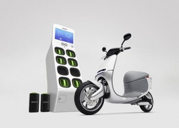 Gogoro, the Electric Scooter of the Future that won't Need Charging