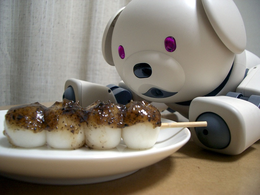 Robots at your service people! Popcorn, Pizza or Pancakes?