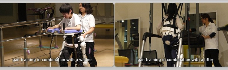 Workers with superhuman powers, Robot Exoskeleton