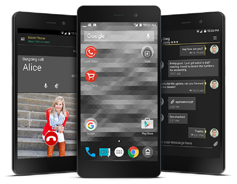 Blackphone 2, Dark, Secure & Privacy Focused Android Smartphone