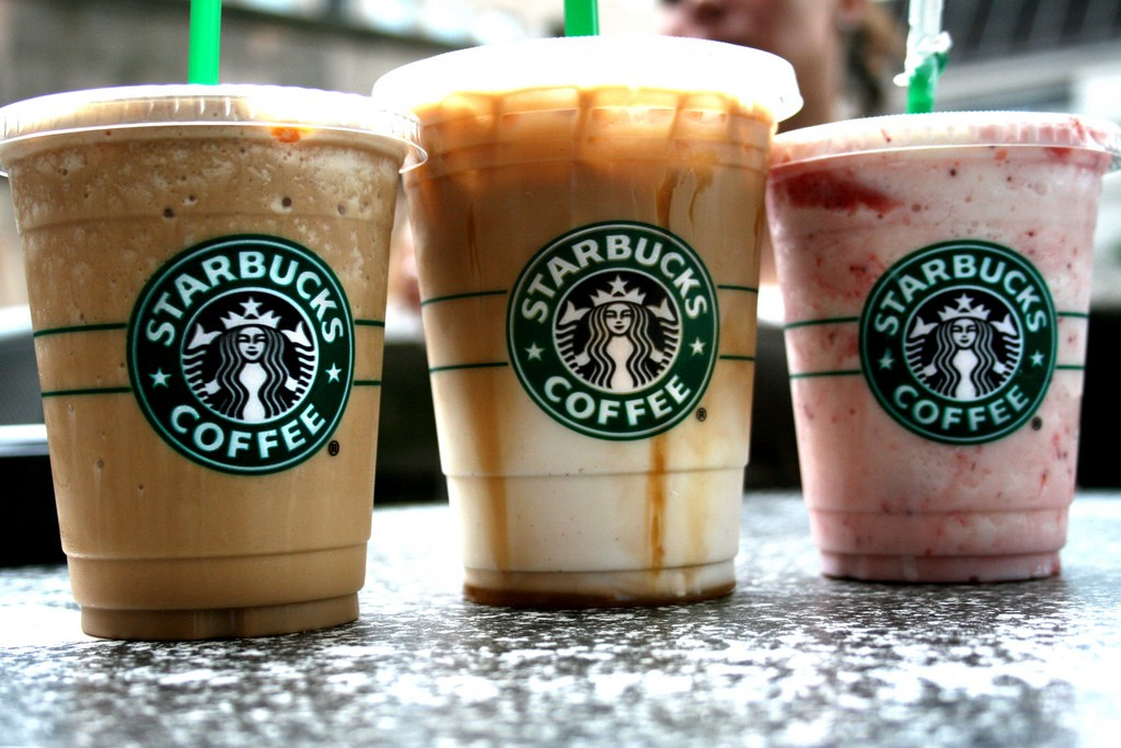 Pre-Order on Starbucks App