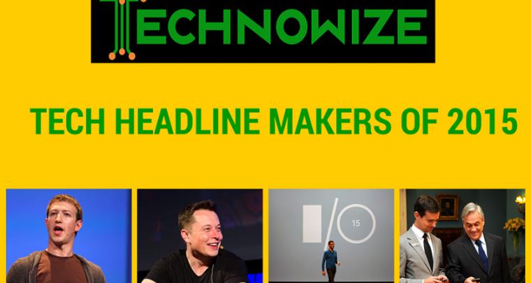Top Five Tech Headline Makers of 2015