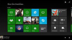 Xbox One Smart Glass