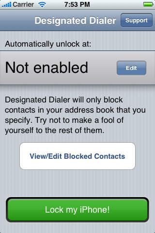 designated dialer