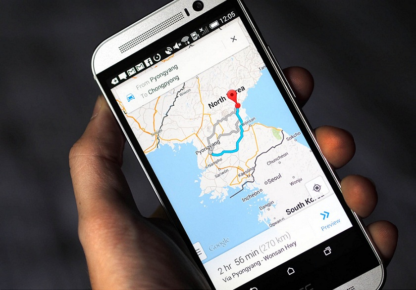 Google Maps v9.19 with 'Driving mode' will voluntarily predict your destination