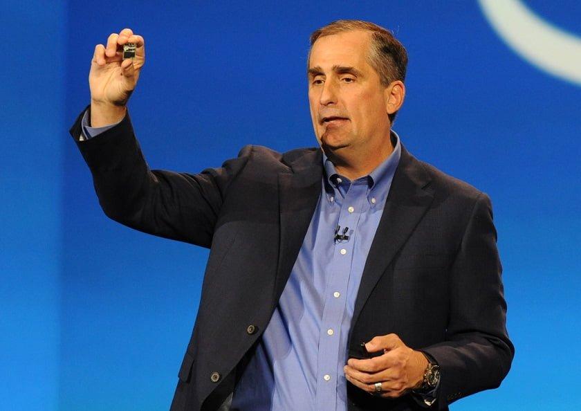 Intel's CEO- Brian Krzanich
