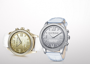 Isaac Mizrahi Smartwatch is a statement piece in HP's Smartwatch series