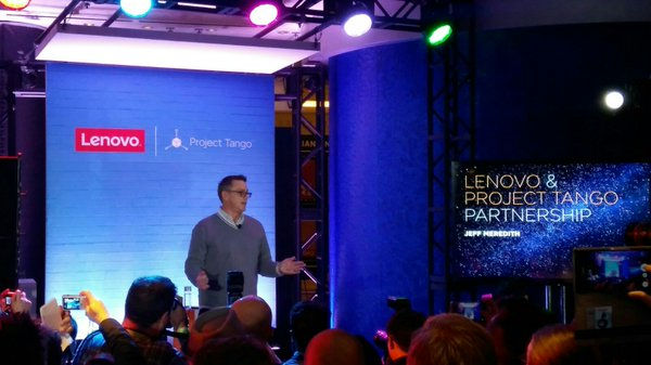CES 2016: It Takes Two to Tango: Major Merger of Project Tango and Lenovo