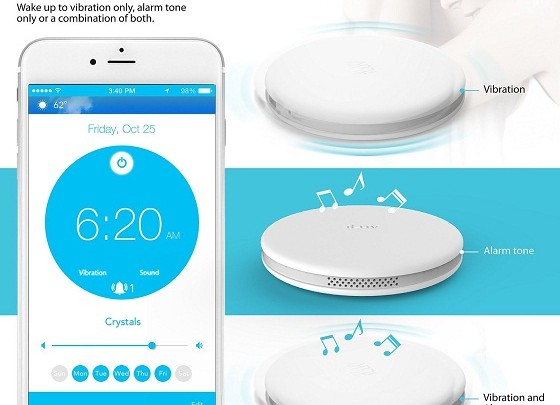 CES 2016: iLuv SmartShaker 2 that will shake your pillow to wake you up