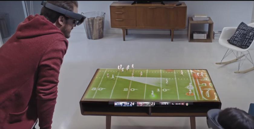 Microsoft HoloLens Teases