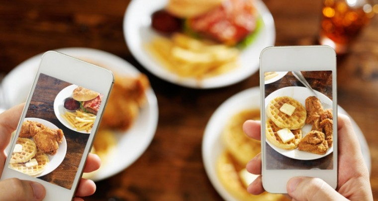 Want your waffles to taste better? Instagram it already!