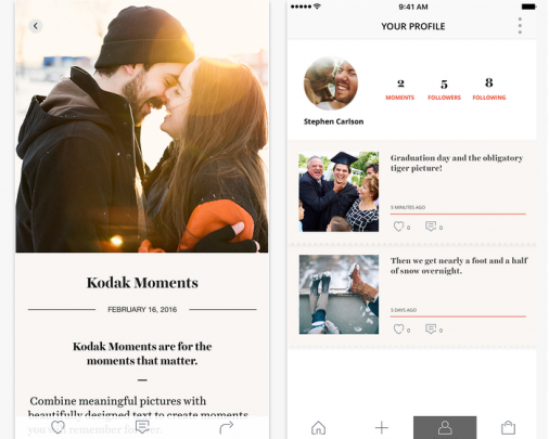 Capture Real Time Storytelling Experience with Kodak Moments