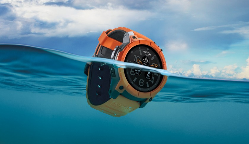 Nixon Mission, Action Sports Smartwatch with Surfing and Snowboarding Features