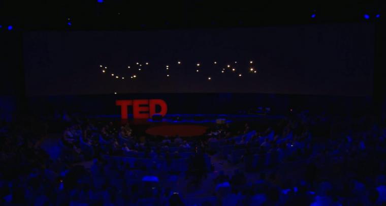 The Luminous Flight Paths of Quadcopters by Raffaello D'Andrea