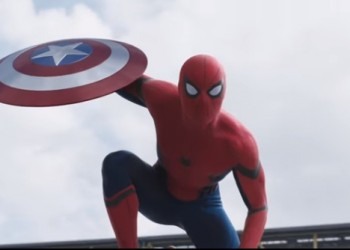 The new Spider-Man has picked his side in the Captain America: Civil Wars