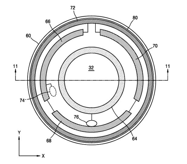 Samsung Smart Contact Lenses