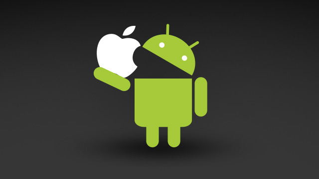 Android market share growth 2