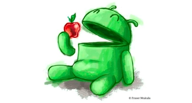 Android market share growth