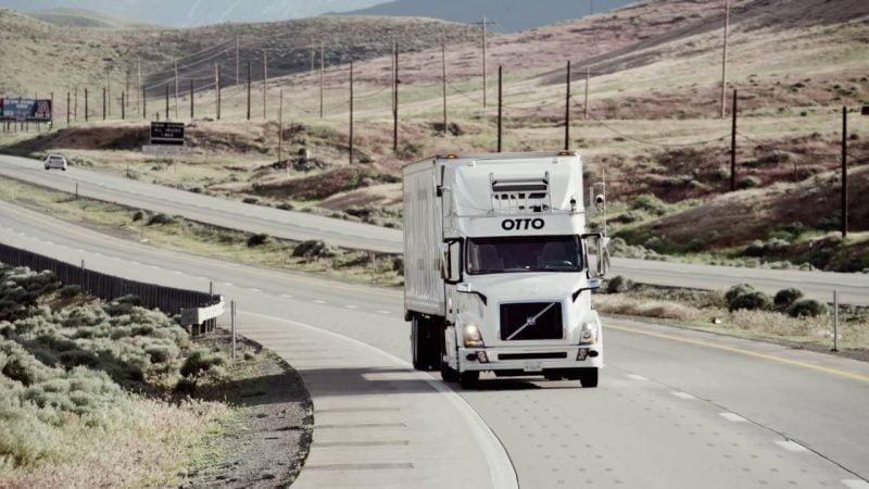 Self Driving Truck Startup Otto