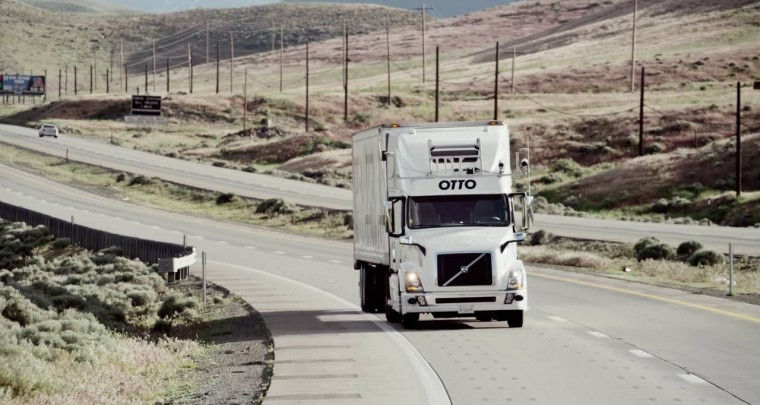 Self Driving Truck Startup Otto: First Commercial Autonomous Vehicle