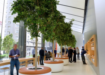 How Union Square Store is a statement of Ambition for Apple CEO Tim Cook