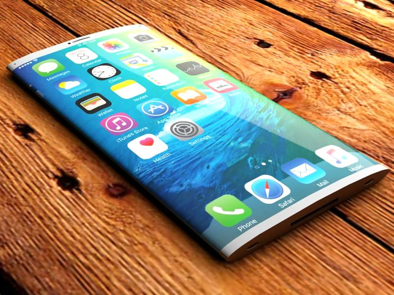 iPhone 8 Edgeless Display