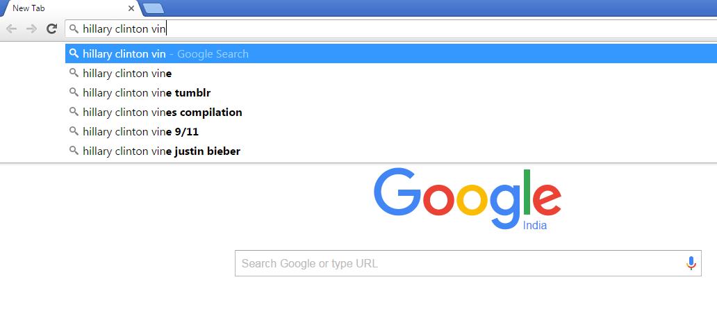 Google Hillary 3