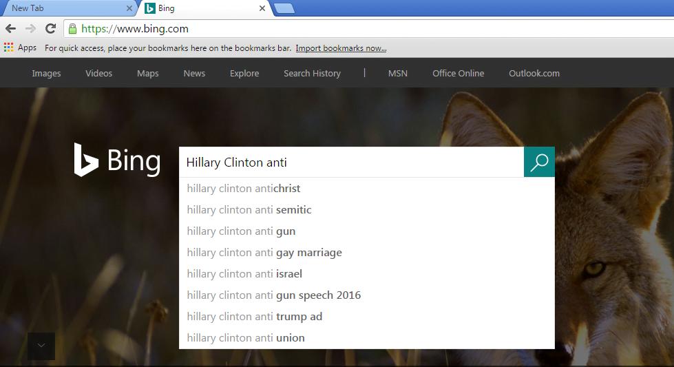 Google Hillary 5