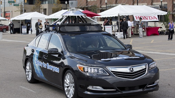 Honda Self Driving Car