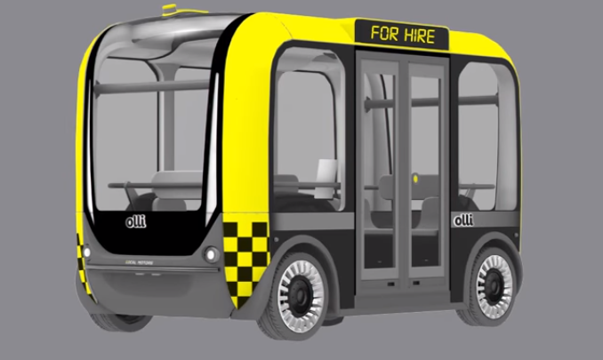 The First IBM Watson-Powered Self-Driving 3D Printed Vehicle