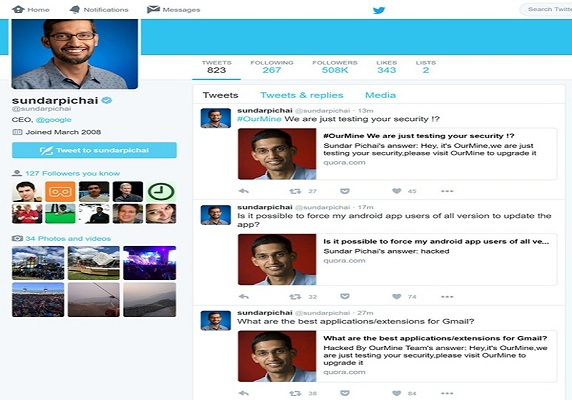 Even Google CEO Sundar Pichai Isn't Safe From Hackers