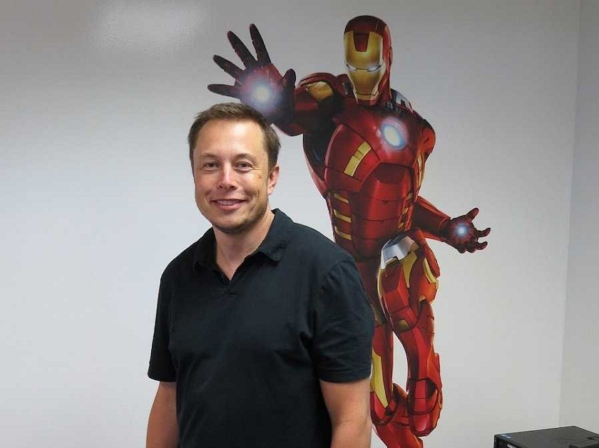 Elon Musk is Iron Man