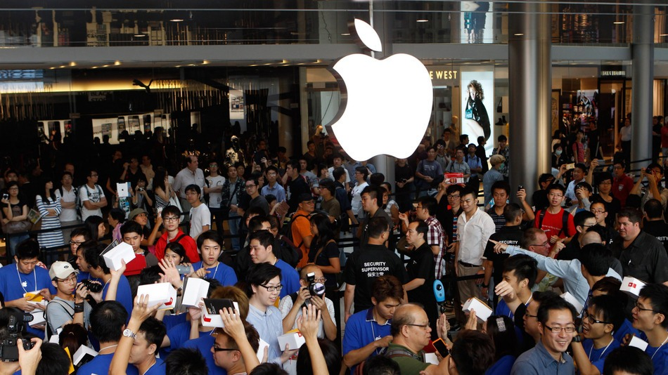 Slow Apple Sales in China
