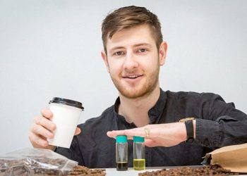 Londoner Who Envisaged Turning Coffee Grounds Into Fuel