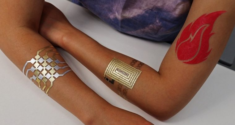 MIT DuoSkin Tattoos Can Control All Your Gadgets