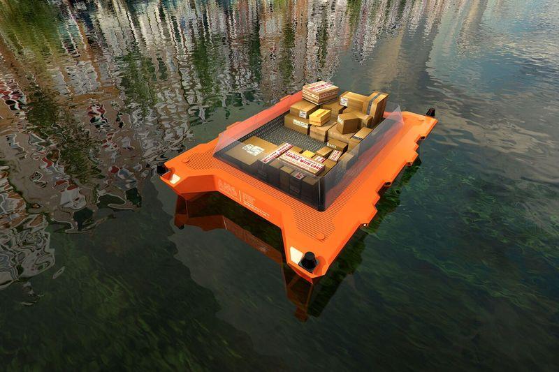 amsterdam self driving boat