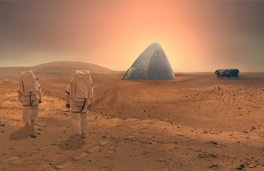 Mars Ice House life on mars