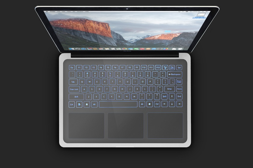 Apple Keyless Keyboard