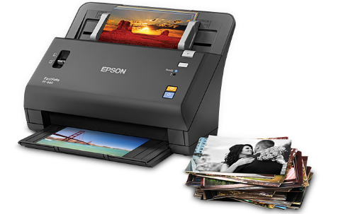 Scanning made easier with the World's Fastest Photo Scanner