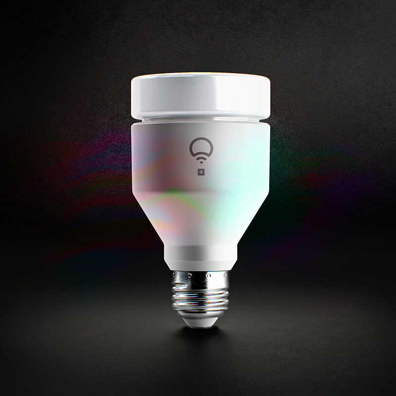 LIFX+ Produces Infrared Light