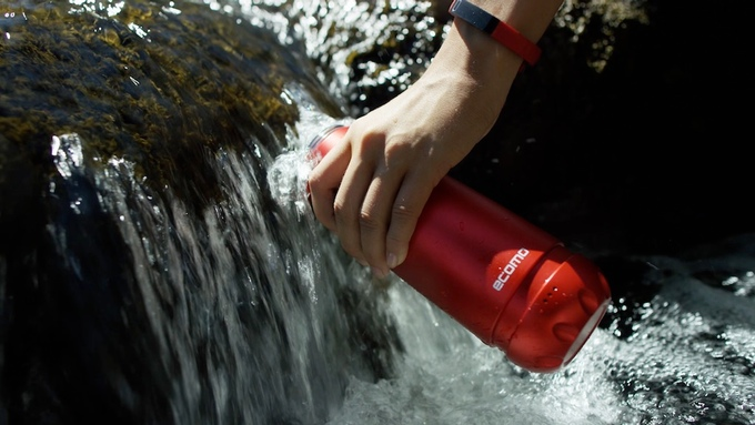 Ecomo water purification bottle