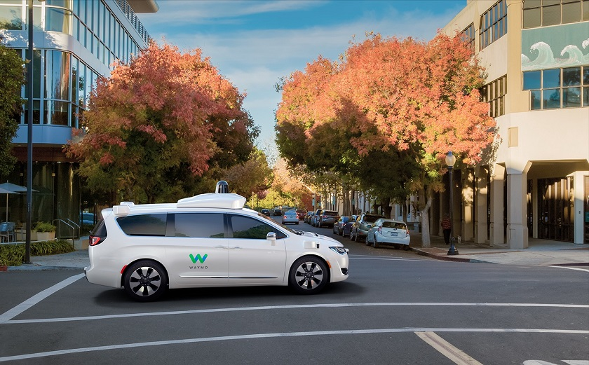 Google Waymo's Pacifica Hybrids Set to Hit Public Roads in 2017