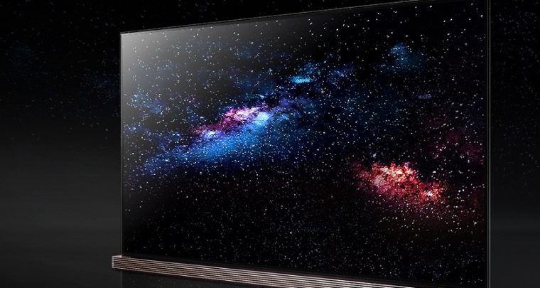 LG OLED Wallpaper TV is as Thin as Paper with Advanced Picture Quality