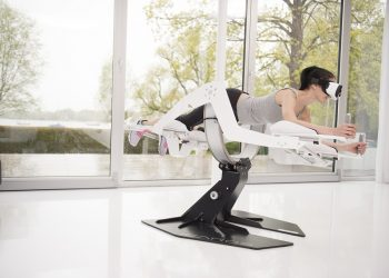 Icaros Fitness Device Makes you Feel like a Superhero while Working Out
