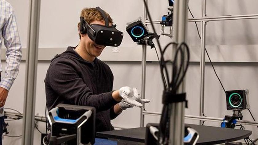 Oculus VR Glove