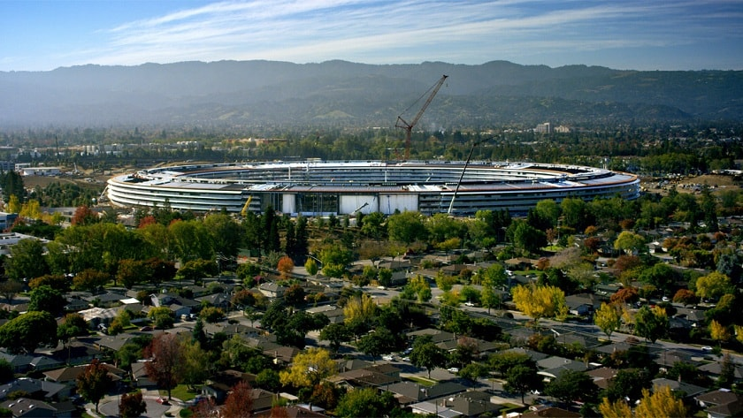 apple's mystery wireless device for apple park