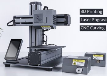 Create objects at your Desk with the Snapmaker 3D Printer