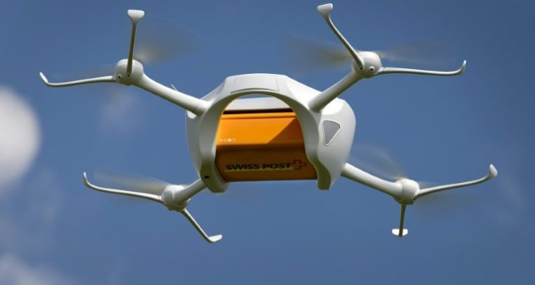 Swiss Post Drone is undergoing testing to help hospitals transport lab samples