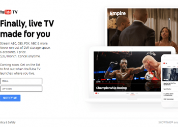 YouTube's Official Live TV Service – YouTube TV