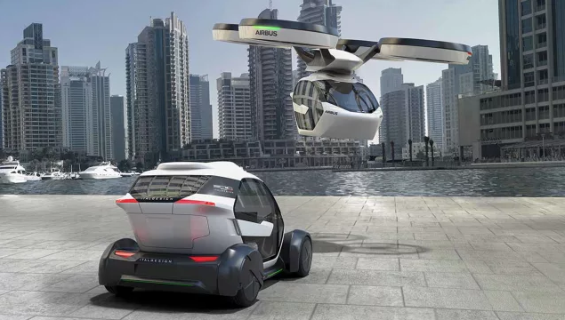 autonomous flying vehicle